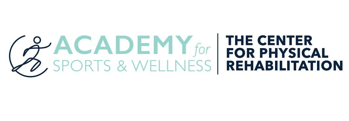 Academy for sports and wellness logo